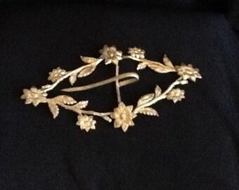 Victorian Brass Buckle