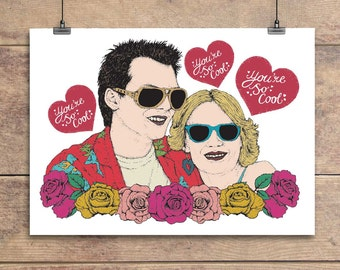 True Romance - Film - Movie - Valentine's - Anniversary - Greeting Card