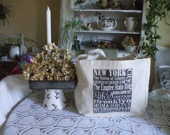 Reusable Cotton Tote Bag