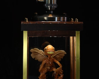 Hellboy - Tooth Fairy steampunk lamp