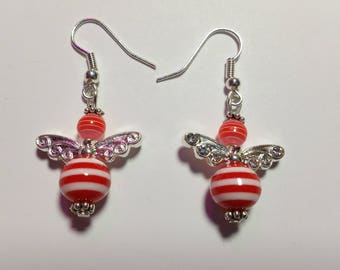 """Earrings """"Candy-Angels Red"""""""