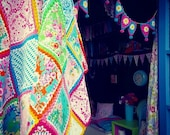 Patchwork and crochet fab...