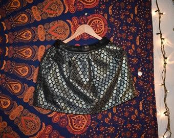 Vintage Skirt Metallic