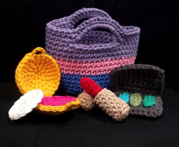 Easy Amigurumi Crochet Patterns : Amigurumi crochet pattern quick and easy make up and bag cute