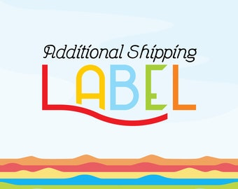Additional shipping label (USPS)