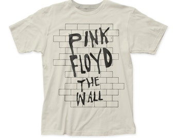 Pink Floyd the wall soft fitted 30/1 jersey tee (PF32) Vintage White