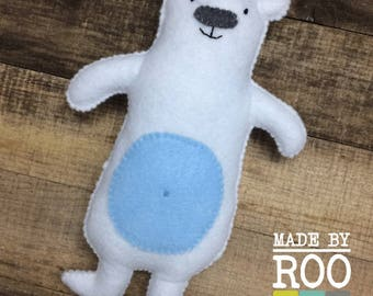 Woodland Friends Stuffie - Polar Bear