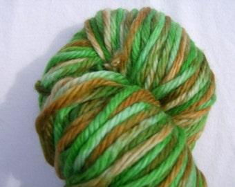 Rolling Stone Gathers No Moss- Hand-painted Superwash Merino Wool 95 yds. per skein
