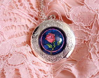 Beauty and the Beast Locket