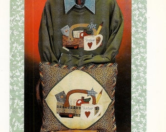 A Back-To-School Applique Pattern: Month to Month in a Basket / August ~ Karen's Kraftwear 222