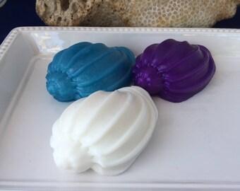 Shell Soap - Seashell Soap - Beach Soap - Beach House Soap - Beach Gift - Beach Wedding - Shower Favor