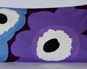 """14""""x 24"""" Marimekko Pillow Cover. Handmade. (35x60cm)"""