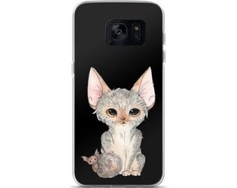 Lykoi & Baby Bat Samsung Case