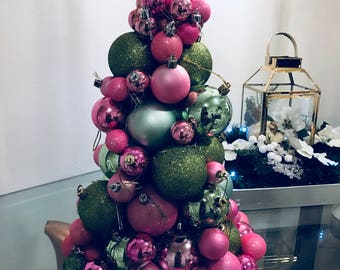 Christmas ornament tree // Christmas ornamant // christmas tree // christmas balls