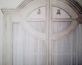 Door linen curtains, linen door curtains, Irish linen net curtains