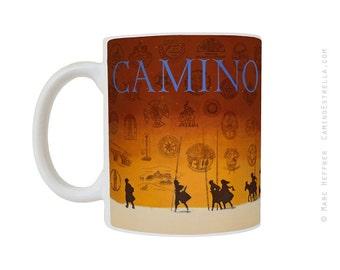 El Camino de Santiago Gift Mug Pilgrims