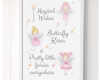 3 fairies- wishes,kisses,everywhere