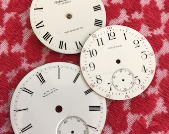 Enamel Watch Faces