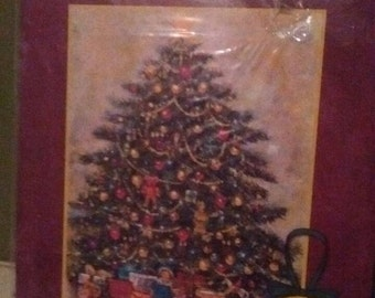 Lang's Christmas Tree Advent Calendar with bonus paper ornament