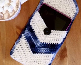 Tablet Case, Tablet Protector, Tablet Cover, Kindle Case, Kindle Cover, Kindle Protector, Ipad Case, Ipad Cover, Ipad Protector,Chevron Case
