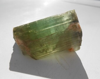 Interesting Green Tourmaline Specimen, 19.6g