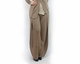 pants,women pants,classic pants,beige pants,jersey pants,suit,comfortable pants,original pants,suit,urban casual  Model P-37
