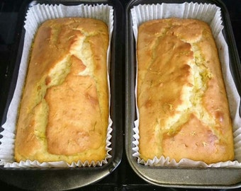 Lemon & Lime Loaf Cake - Healthy - Suitable for Weight Watchers Smartpoints / Flex