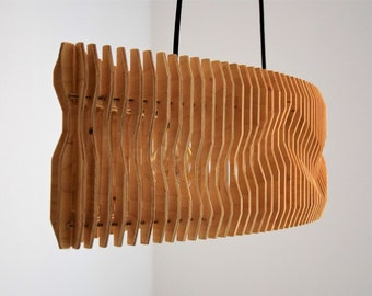 Plywood pendant lamp Ceiling Light