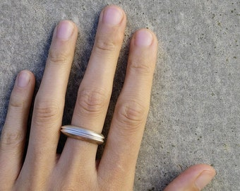 Trillion Ring, Unique Silver Ring, Women's Silver Ring, Geometric Silver Ring, Stacking Silver Ring, Boho Silver Ring, Sterling Silver Ring