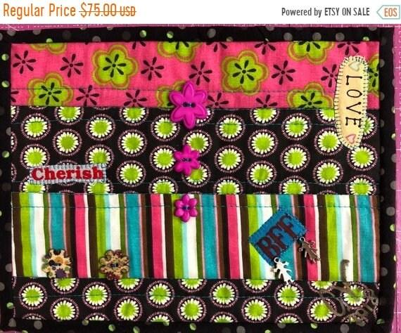 Hello Summer Sale Friendship #2 8x10 inch mini quilt