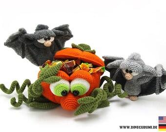 Halloween crochet pattern amigurumi