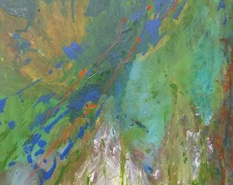 Large original painting modern wall art home decore acrylic abstract fine art painting living room art wall art canvas artwork
