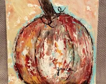 Original Pumpkin Painting