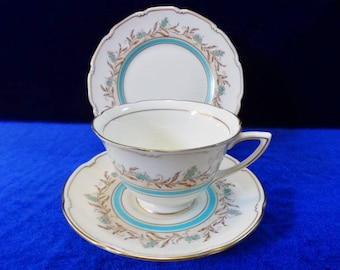 Royal Doulton Prelude trio cup saucer side plate