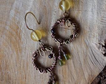 Flower Meadow earrings
