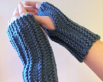 Knitting Pattern for Wrist warmers