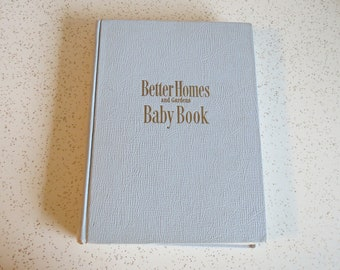 Better Homes and Gardens Baby Book, Vintage 1950's New Baby Book Lorraine Fox