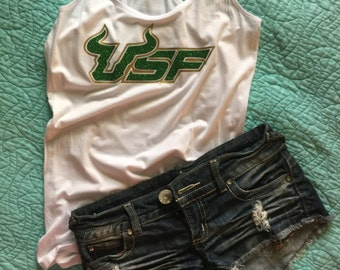 USF Bulls, college football, college apparel, university of south Florida