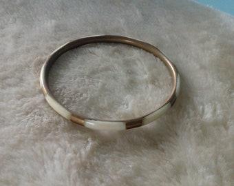 Brown, Cream Bracelet