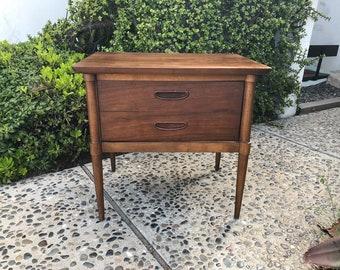MID CENTURY MODERN table de chevet 1 tiroir