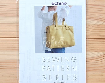Paper Pattern | square boston bag echino