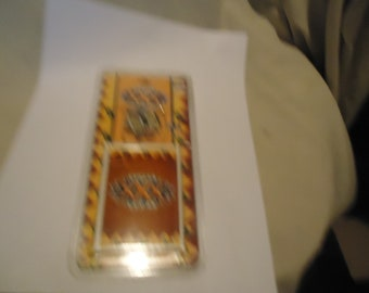 Vintage Super Bowl 30 XXX 1996 Score Commemorative Pin & Card Sealed In Package, collectable