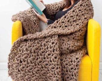 Mahoosive Blanket Crochet Pattern Download (804029)