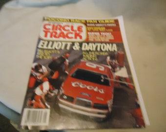 Juin 1985 cercle Petersen trace Elliott & Daytona Vintage! Magazine Volume 4 Numéro 6, à collectionner