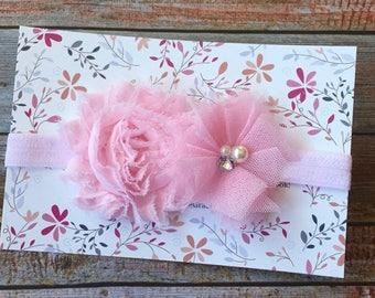 Baby Girl Headband, Pink Headband, Pink Baby Headband, Newborn Headband, Infant Headband, Baby Headband, Headbands, Toddler Headband, Baby