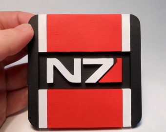 Mass Effect N7 coaster