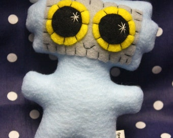 Little Robot - Eco-friendly Felt Plush Robot