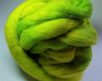 Lime Margarita Colonial Wool Top - 3 Ounces