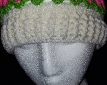 Tulip hat, perfect for Easter