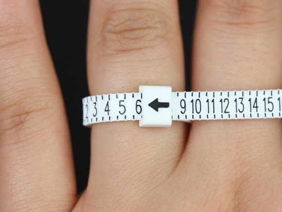 Travel Size Adjustable Ring Sizer